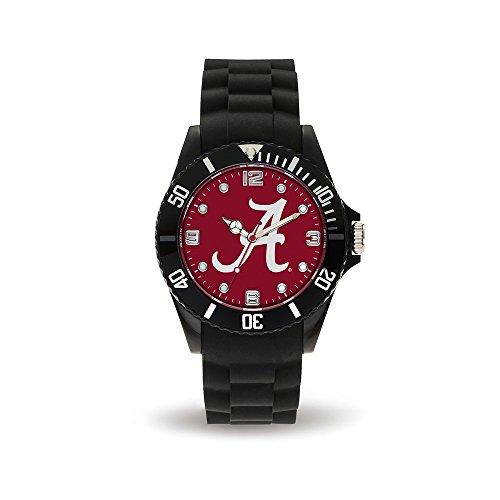 NCAA Alabama Crimson Tide Spirit Watch, Black Ncaa Sport Game Day Watch