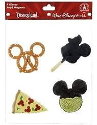 Disney Parks Magnet Set - Parks Snack Foods - 4 pc - Original