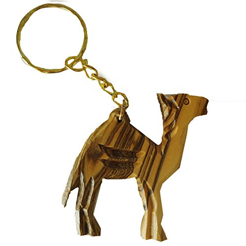 olivewood-olive-wood-carved-camel-key-chain-from-bethlehem-israel-ow-kc-006