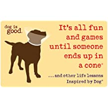 It's All Fun and Games Until Someone Ends Up in a Cone®: ...And Other Life Lessons Inspired by Dog® (Dog Is Good)