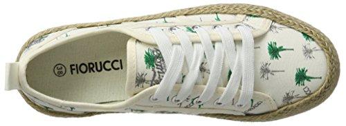 Zapatillas Mujer Blanco Fepd027 Fiorucci para Bianco UvZwf5fYq