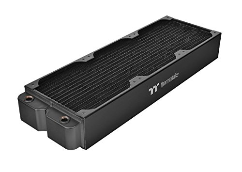 Thermaltake Pacific DIY Liquid Cooling System CL360 64mm Thick Copper Radiator - Water Cooled Radiator