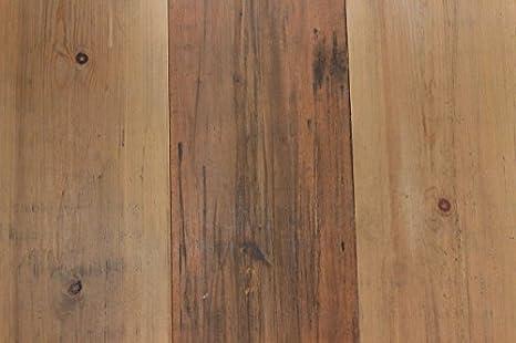 Reclaimed Wood Antique Wide Plank Pine Flooring Sample