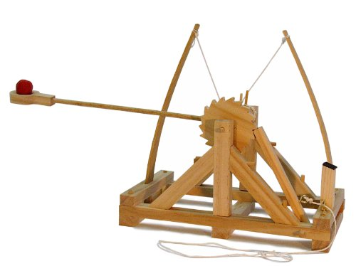 Leonardo da Vinci Catapult Kit (Boys Kits Building Wood)