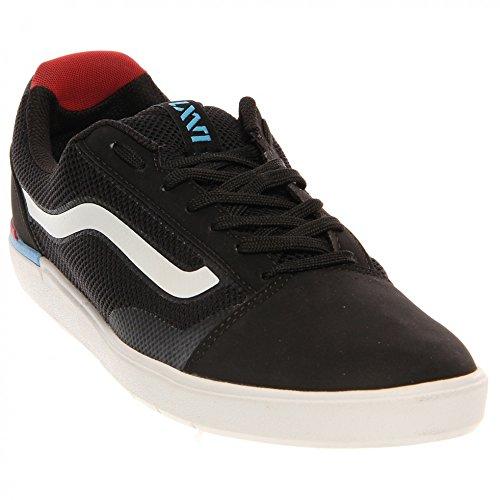 討論再編成する真っ逆さまVans メンズ Vans LXVI Locus Mens Skateboarding Shoes Black Red