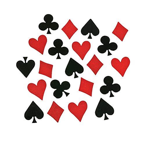Card Symbol Confetti - Party Tableware & Table - Tableware Casino