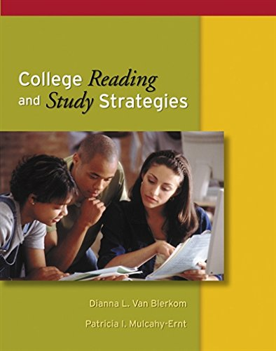 College Reading and Study Strategies (with InfoTrac) (Study Skills/Critical Thinking)