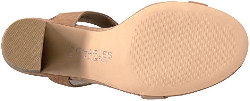Charles Af Charles David Kvinder Eddie Gladiator Sandal Naturlige 2EJCzyKBEe