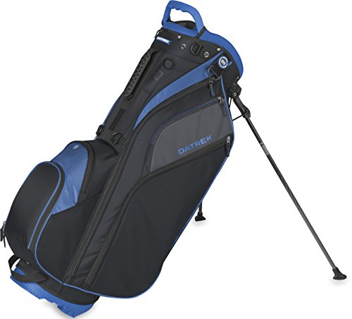 Datrek Golf Go Lite Hybrid Stand Bag (Black/Slate/Royal)