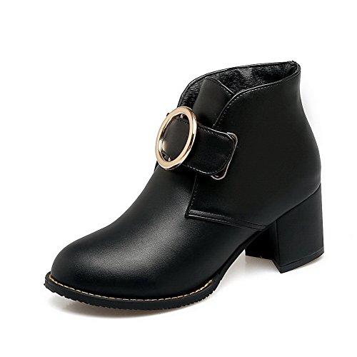 Negro mujer Zapatos 1TO9 cerrados Para YqBB67
