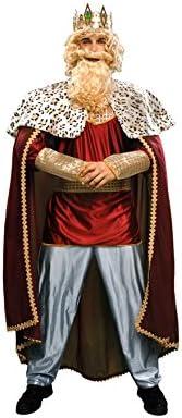 Disfrazzes - Disfraz de rey mago rojo - traje de rey mago: Amazon ...