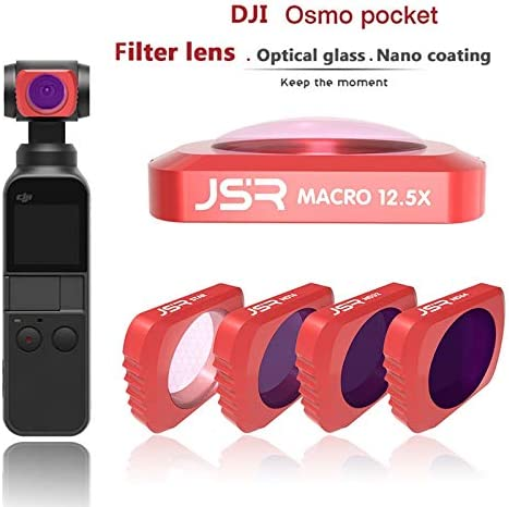ND UV CPL Filter 12.5 Macro Filter for DJI OSMO Pocket Filter Close-up Macro Lens Filter 12.5X Macro Filter for DJI OSMO Pocket Accessories Handheld Gimbal Camera Filter