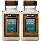 Kirkland Signature Pure Sea Salt, 30 Ounce (2 count)