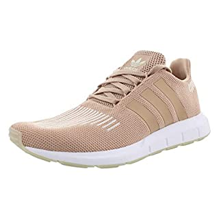 adidas Originals Women's Swift W Running-Shoes,clear brown/white/core black,8 M US