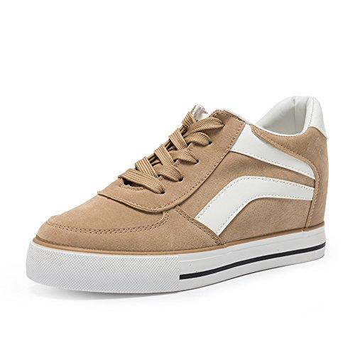 Lady Leisure Schuhe,Innere Anhebung Gürtel Sneakers B