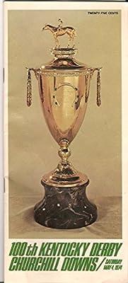 1974 Kentucky Derby Program