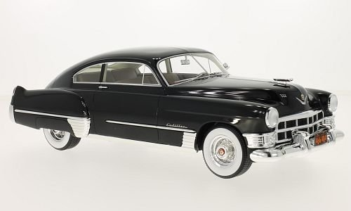 Cadillac series 62 Club Sedanette, black, 1949, Model Car, Ready-made, BoS-Models (1949 Cadillac Series 62)