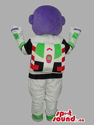 Iconic Buzz Astronaut Toy Story Movie Character Mascot SpotSound US