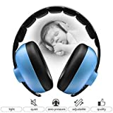 : BBTKCARE Baby Ear Protection Noise Cancelling Headphones for Babies for 3 Months to 2 Years (Blue)