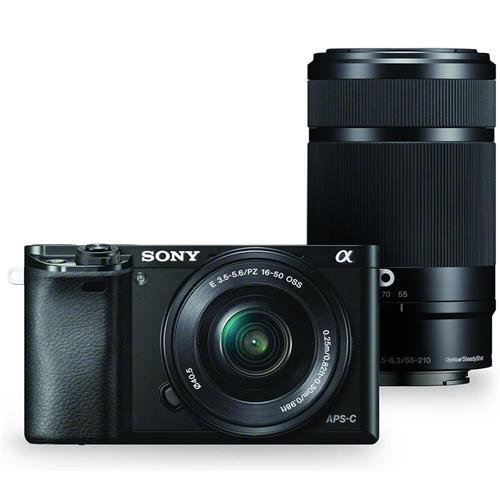 rorless Digital Camera w/ 16-50mm and 55-210mm Power Zoom Lenses ()