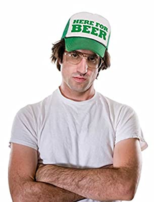 Tstars - Here for The Beer Funny St. Patrick's Day Party Trucker Hat Mesh Cap