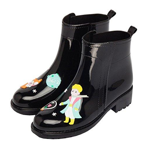 HOFFNUNG Männer Frauen Regen Stiefel Wasser Schuhe Wasser Anti-Schlamm Vier Jahreszeiten Anti-Rutsch Einfache Noble,C-c B