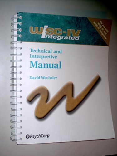wais iv scoring manual pdf