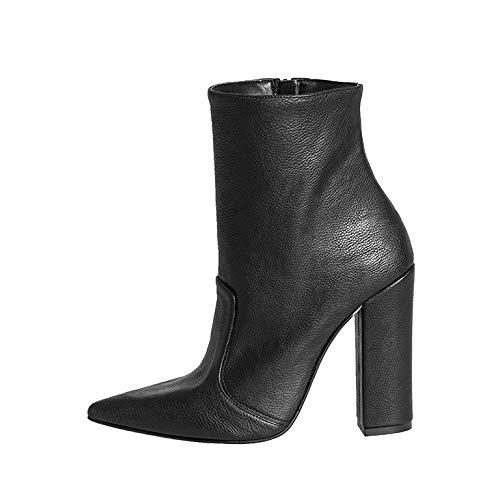 Damenschuhe aus echtem Leder Größe 41 TACCO Largo HOHE 10 10 10 cm Made IN  SCHWARZ MPN-11 OPTIMALE Quality SIGNORILE ELEGANT 4a5707