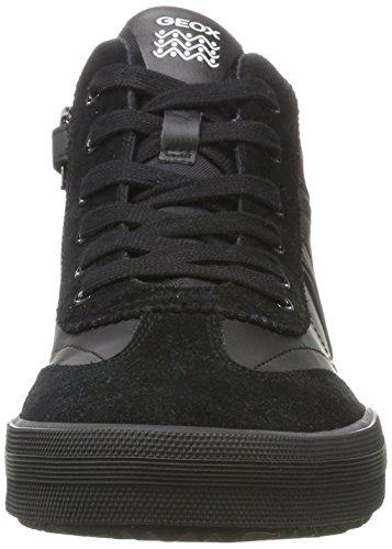 Alonisso C9999 Black Boy Unisex Geox Top Black Adults' J Trainers Hi C PC4Iwq