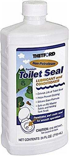 Thetford RV Toilet Seal Lube and Conditioner - Toilet Seal Lubricant - 24 oz 36663 by Thetford
