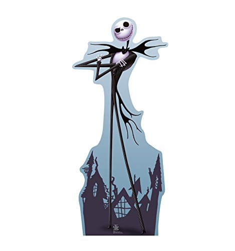 Advanced Graphics Jack Skellington Life Size Cardboard Cutout Standup - Tim Burton's The Nightmare Before Christmas for $<!--$44.99-->