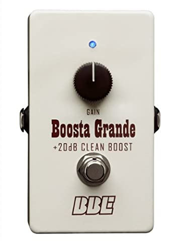 BBE Boosta Grande Clean Boost with up to 20 dB of Gain (Bass Guitar Volume Pedal)