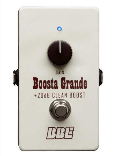 (BBE Boosta Grande Clean Boost with up to 20 dB of Gain)