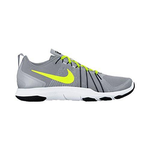 Nike Heren Flex Trein Gem Training Schoen Wolf Grijs / Volt / Zwart / Wit