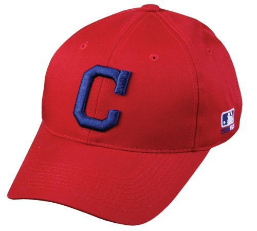 Adult Cleveland Indians Alternate Red Hat Cap MLB Cleveland Indians Outdoor Accessories