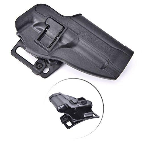 LTY Beretta M92 Holster,Quick Release Tactical Right Hand Waist Belt Gun Holster for Beretta M9 M92 (Black)
