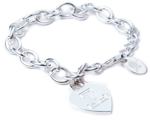 Arizona Wildcats Heart (NCAA Arizona Wildcats Heart Tag Bracelet)