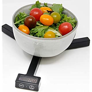 HeartsBio Food Weight Scale W1 - HeartsDiet Folding grams ounces oz small portable tare function for healthy diet tea coffee brew - kitchen scale food scale