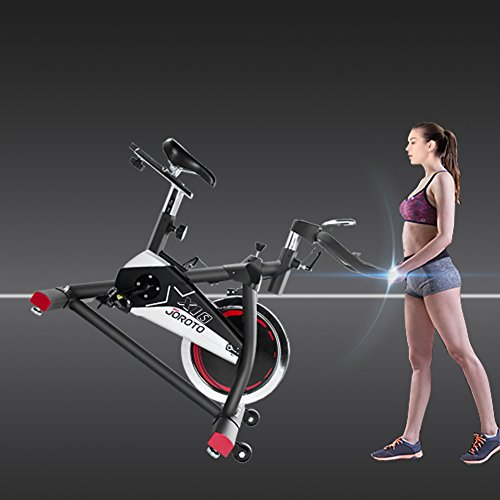 JOROTO Indoor Cycling Bike Trainer - Professional Exercise Bike Stationary Bike for Home Cardio Gym Workout (Model: X1S)