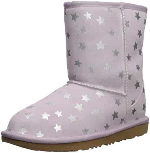 UGG Kids' K Classic Short Ii Stars Fashion Boot