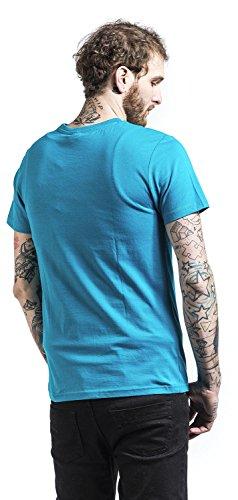 amp;butthead Taille Acts Homme Nicholson Pour Caraïbes Xl Beavis Mtv Bleu shirt L T M «swim Sea S James Carribean qErA7Exw8