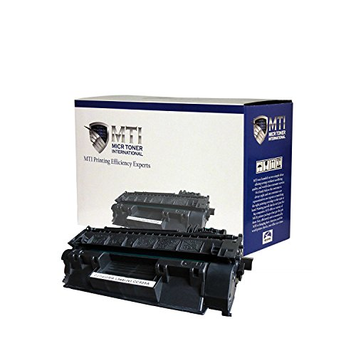 MTI - TROY 2035/2055 MICR Toner Cartridge (Yield: 2,300) for Troy & HP Printers: P2035, P2035n, P2055, P2055d, P2055dn, P2055x by MICR Toner International