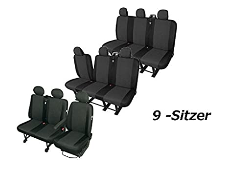 Amazon.fr : Housses de siège pour renault trafic 9 places tOP qualité