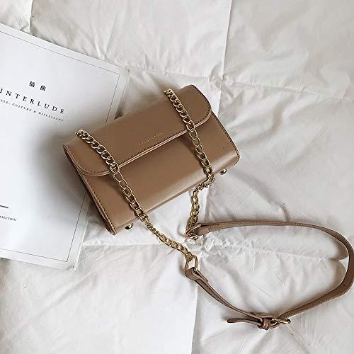 Casual Borsa Quadrata Semplice Selvaggia Donna Nero Xmy Kaki Messenger Bag Da Piccola 4nzdUYa