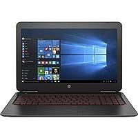 CUK HP Omen 15t Gamer Notebook (Intel i7-7700HQ, 12GB RAM, 128GB SSD + 1TB HDD, NVIDIA GTX 1050 4GB) - Best 15.6 Full HD Windows 10 Powerful Gaming Laptop Computer