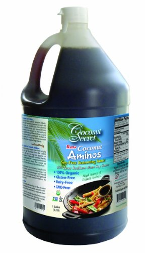 Coconut Secret Raw Organic Coconut Aminos - 5 Gallon