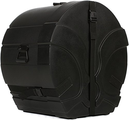 Humes & Berg Enduro Pro EP436BKSP 14 x 24 Inches Bass Drum Case with Foam (Enduro Case Drum Bass)