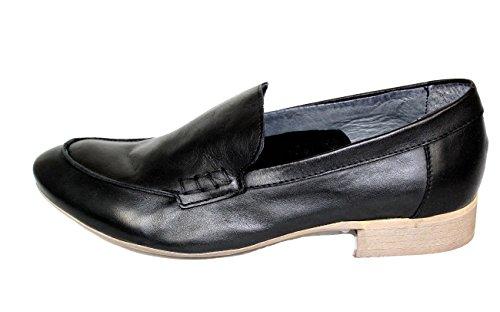 Chaussures 56070 cuir piampiani Chaussons Shoe souple Femme Loafers nbsp;Noir ZUWRgHqP