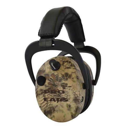 Pro Ears - Stalker Gold - Electronic Hearing Protection and Amplification Earmuffs - NRR 25 - Highlander by Pro Ears