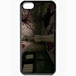 Personalized iPhone 5C Cell phone Case/Cover Skin Alice Madness Returns Black by lolosakes